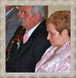 Rodičia ženícha manželia Trstenskí, fotografia 13. jún 2009