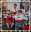Dcéra Veronika s rodinou, fotografia z roku 2005