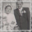 Svadba Štefana Trstenského s Annou rod. Dudovou, Trstená 27.4.1947
