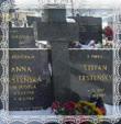 Hrob Štefana Trstenského a Anny rod. Dudovej, Trstená- Vrchpole 1987