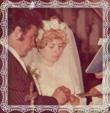 Svadba Miloša Dzureka a Boženy rod. Szabovej v roku 1977