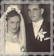 Svadba Martina a Heleny rod. Medveckej, Trstená dňa 16.8.1952