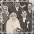 Svadba J.Jablonskej s I. Zembjakom v Trstenej, fotografia 1931