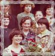 Helena Kompanová rod. Trstenská, promócie, Bratislava, 4.7.1978