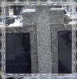 Hrob Štefana Trstenského a Anny rod. Jablonskej, Trstená Cintorín V poli