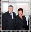 Vdp. Fr. Trstenský, Ján Kompan s manželkou Helenou rod. Trstenskou, Vdp. M. Pánik, 27.9.2008