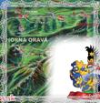 Kalendárik rodu Trstenský na rok 2009 predná strana