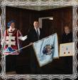 Príhovor pána PhDr. Ladislava Vrtela, A.I.H., hlavný štátny radca pre heraldiku, Herold Slovensko, Fotografia 31.7. 2010, autor Mikuláš Trstenský