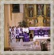 Rozlúčka za rodinu na sv. omši zo dňa 11.12.2006