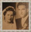 Martin a Žofia rod. Parížová, fotografia 1951