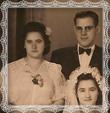 Svadobná fotografia Milan Trstenský a Božena z roku 1947