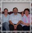 Ing. Dušan Trstenský s rodinou, fotografia 2006