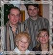 Soňa s rodinou, fotografia 2006