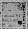 Legitimácia z roku 1944