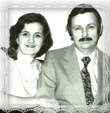 Oľga Löbbová *1949 s manželom Jurajom, Fotografia 1969