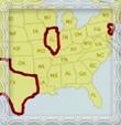 Štáty v USA kde žili v roku 1920 príslušníci rodu Trstenský