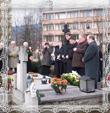 Kladenie vencov na hrob Msgr.V.Trstenského dňa 29.3.2008