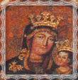 Súčasný obraz Panny Márie v Trstenej.
