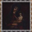Detail obrazu Matky Božej Boruňskej