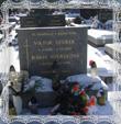 Hrob Márie rod. Trstenskej s Viktorom Dzurekom Vrchpole Trstená