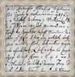 Originál listiny podpísaný a pečatený Andrejom Trstenským spolu s Andrejom Abaffy kapitánom Oravského hradu