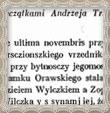 Listina napísaná v poľštine