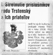 Trstenský hlas júl august 2008 text článku
