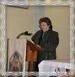 Mgr. Mária Trstenská vyprosuje odpustenie, fotografia dňa 26.9.2008